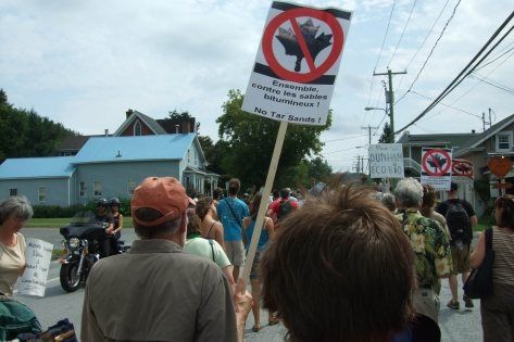Photo: Climate Camp Quebec